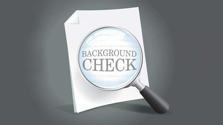 Employment Background Check Information