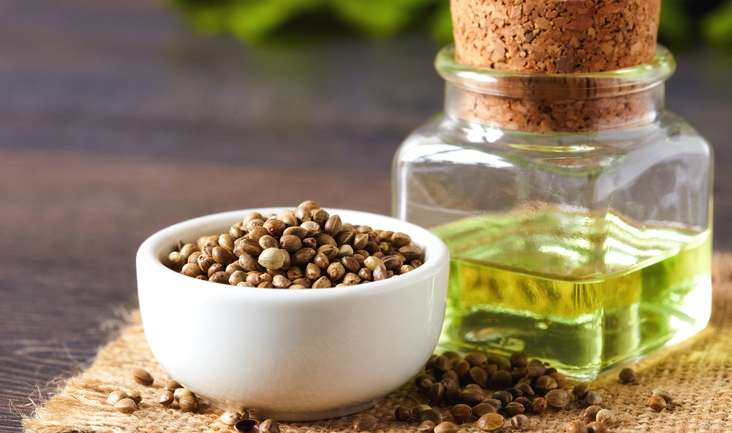 Hemp oil uses and its application